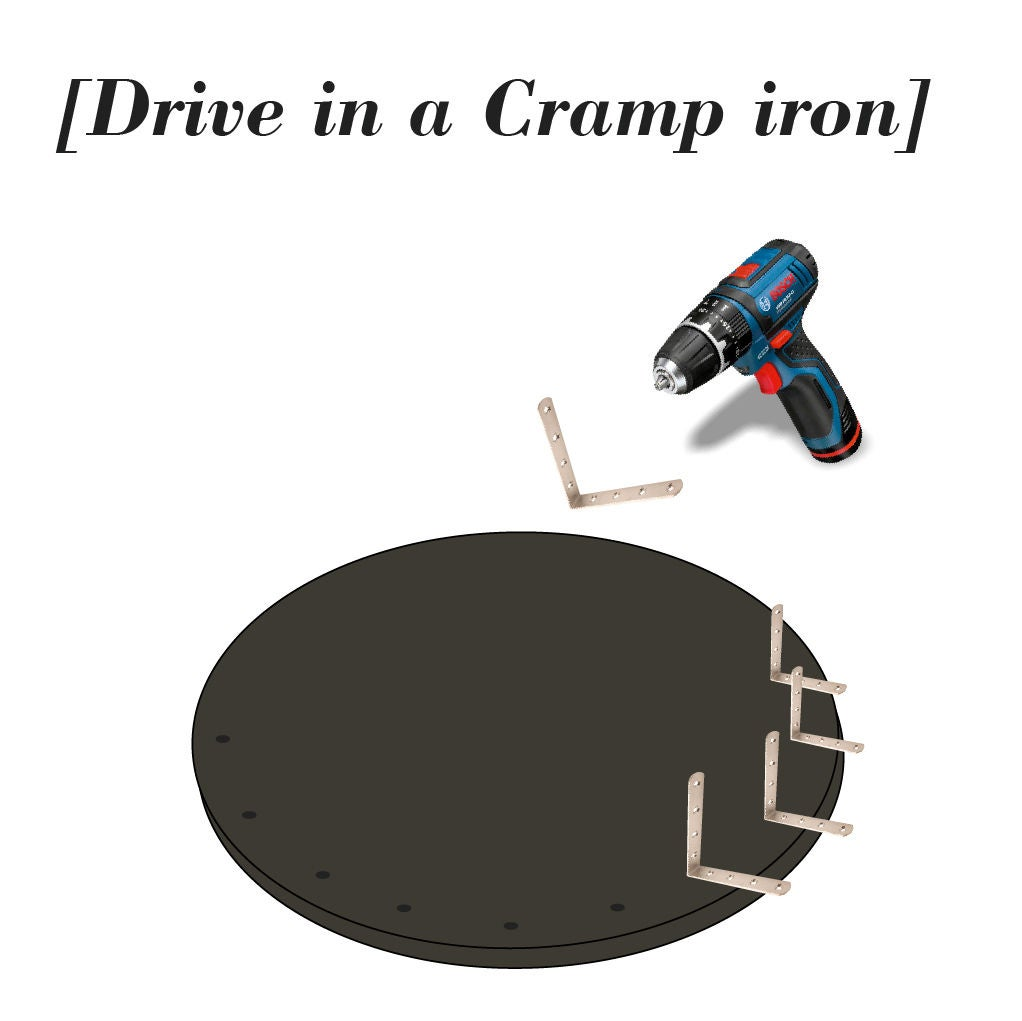 Picture of Create Hardware : Drive in a Cramp Iron