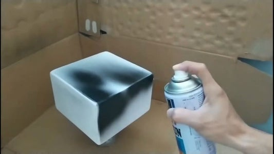 Making the Speaker Case and Spraying