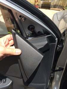 Remove the Side Mirror Plastic Cover & Door Cover (optional)