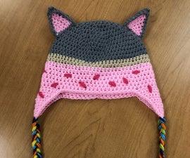 Crochet Nyan Cat Hat