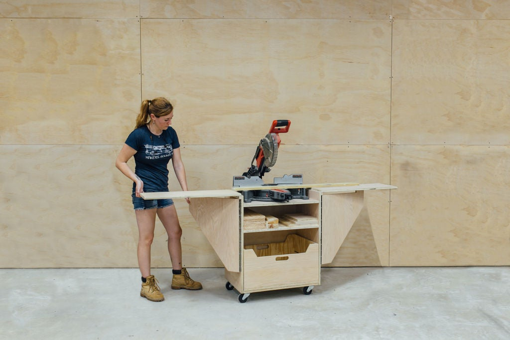 Picture of DIY Mobile Miter Saw Stand