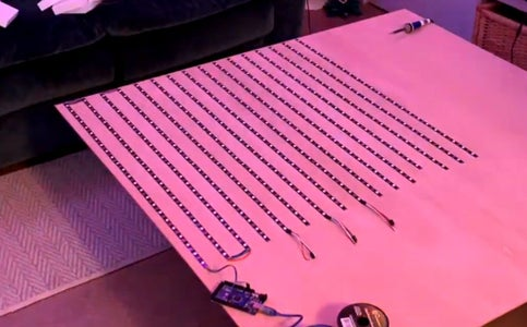 Wire the LED Strips