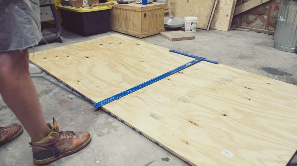 Picture of Cutting Plywood