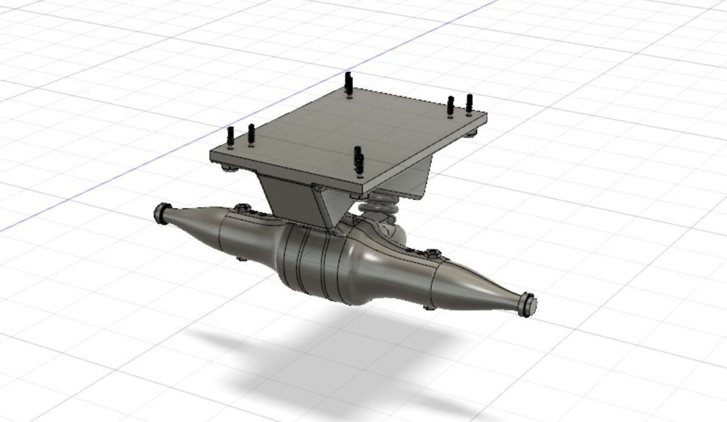 Picture of Base and Axle
