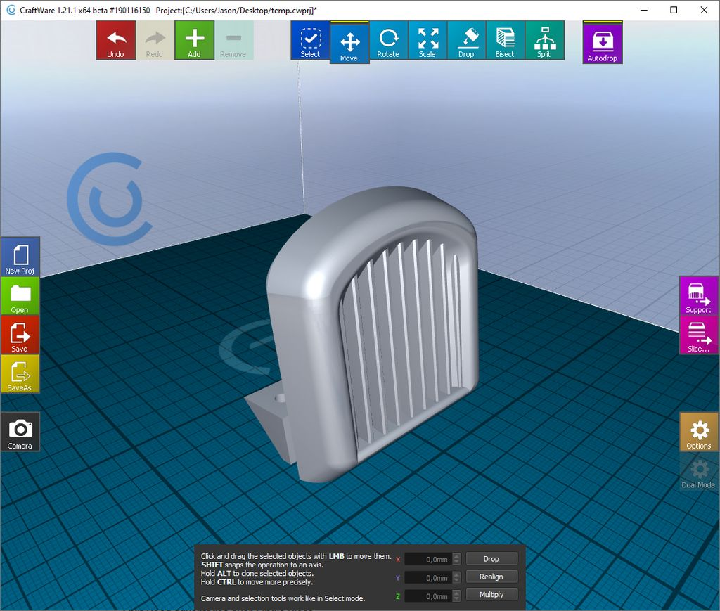 Picture of Printing Grille, Hood, Body
