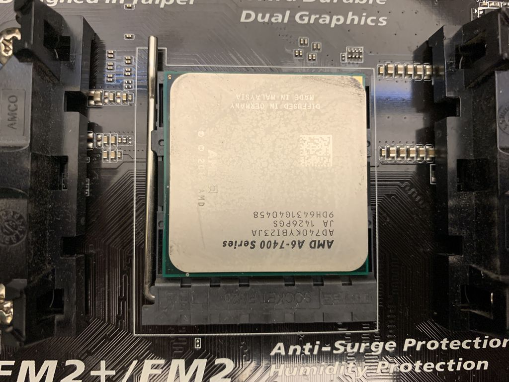 Picture of Insert Your CPU and Heat Sink