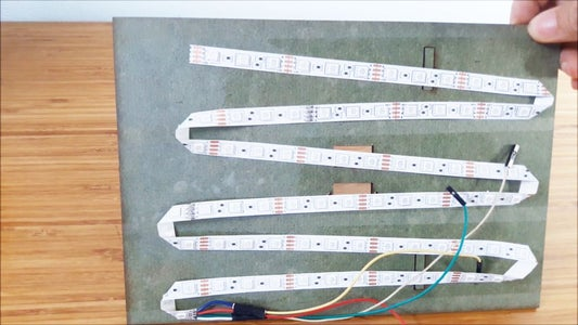 Install LED Strip and Arduino Into Box