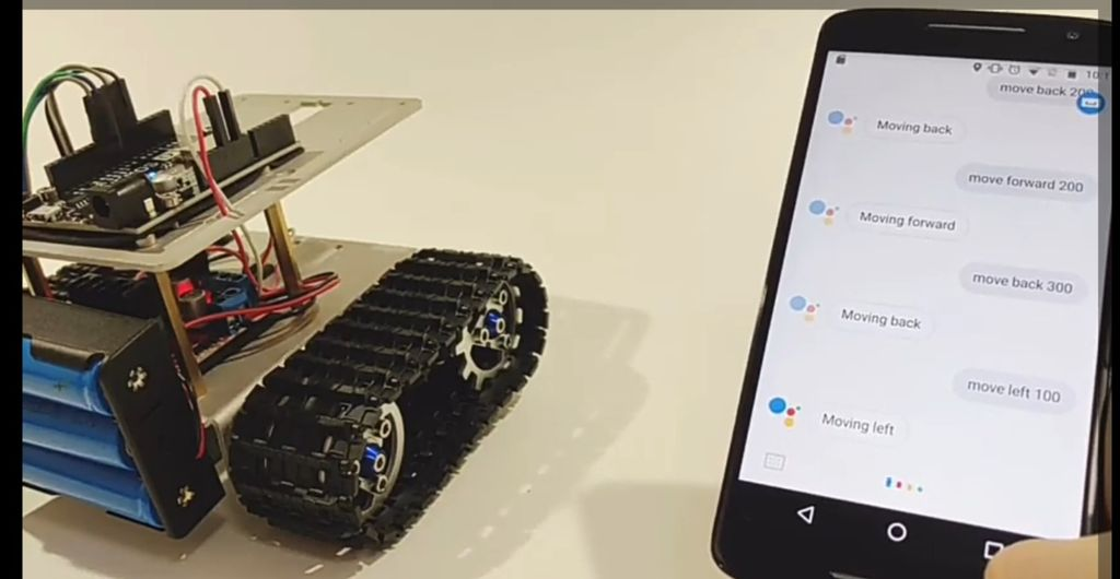 Picture of How to Make a Google Assistant Control Car