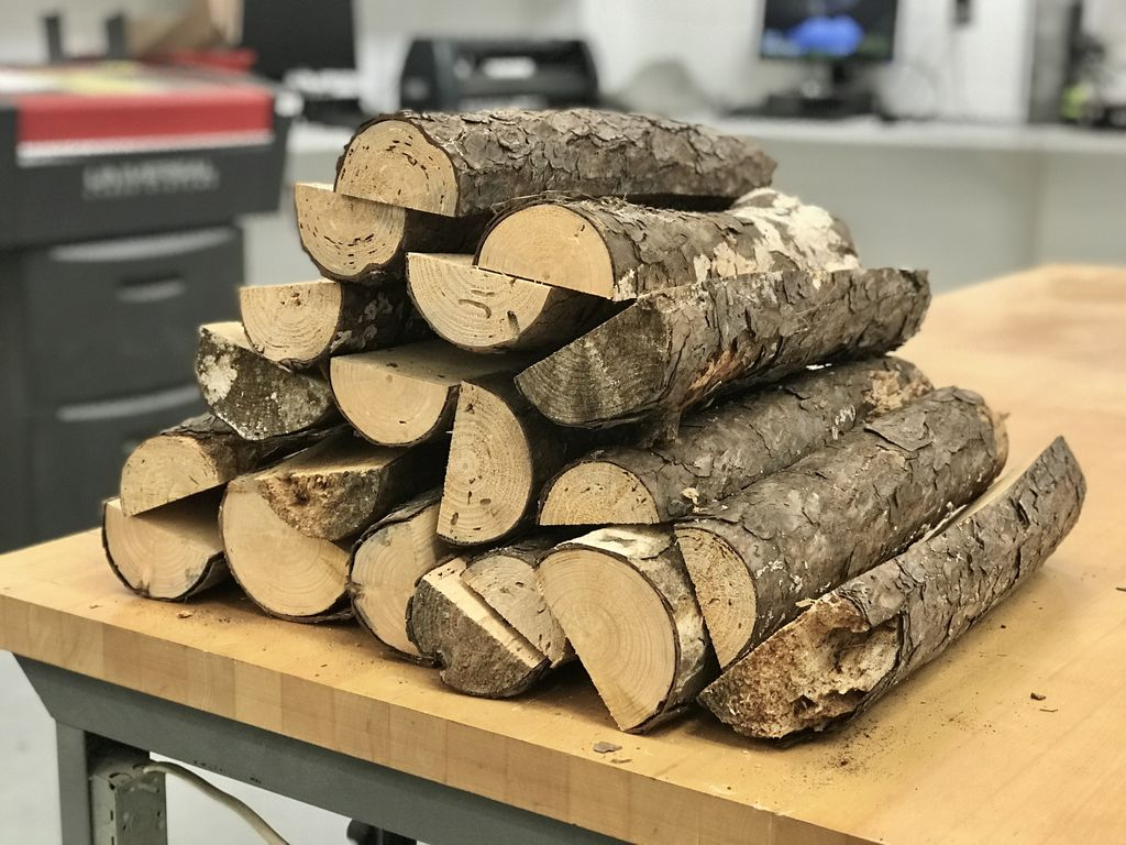 Picture of Cutting the Wood to Create the Outer Shell