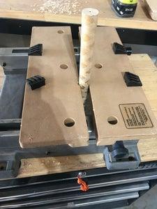 Drill Handle Hole.  Trim. Glue