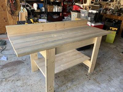 Cut and Install Bottom Shelf.