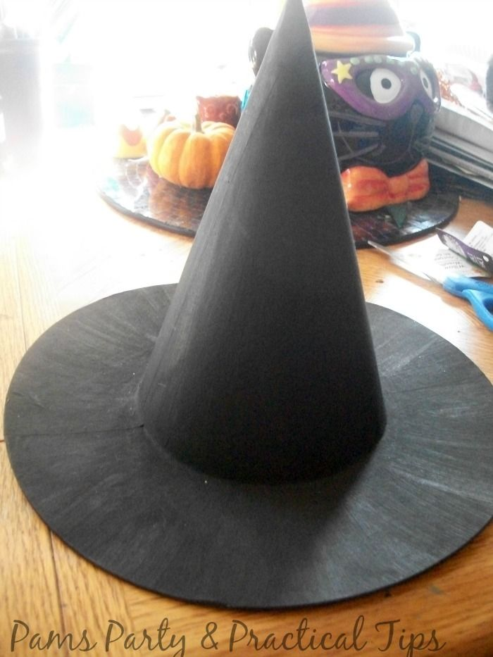 Picture of Haloween Paper Witch Hat
