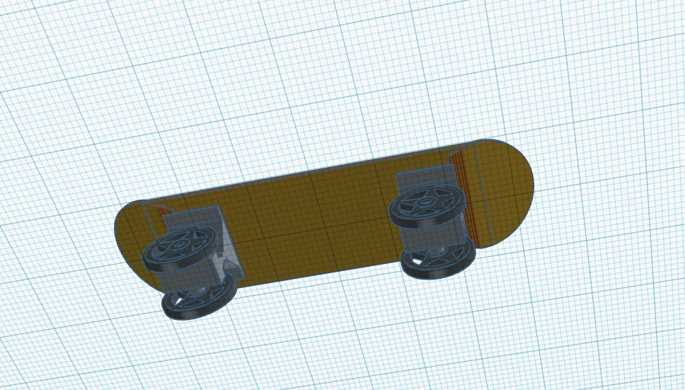 Picture of Panorama of Skateboard