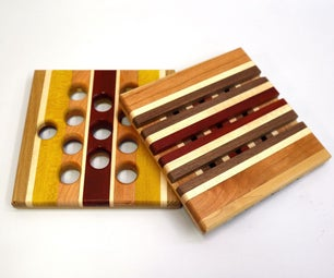 Exotic Wood Trivets
