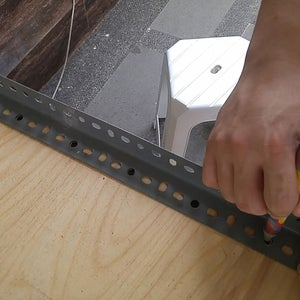 Install Slotted Angle for Roofing