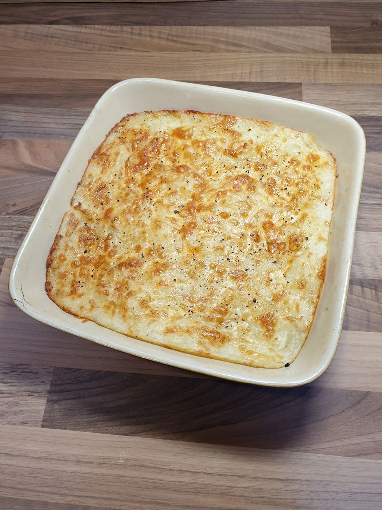 Picture of Top Notch Twice Cooked Mashed Potatoes