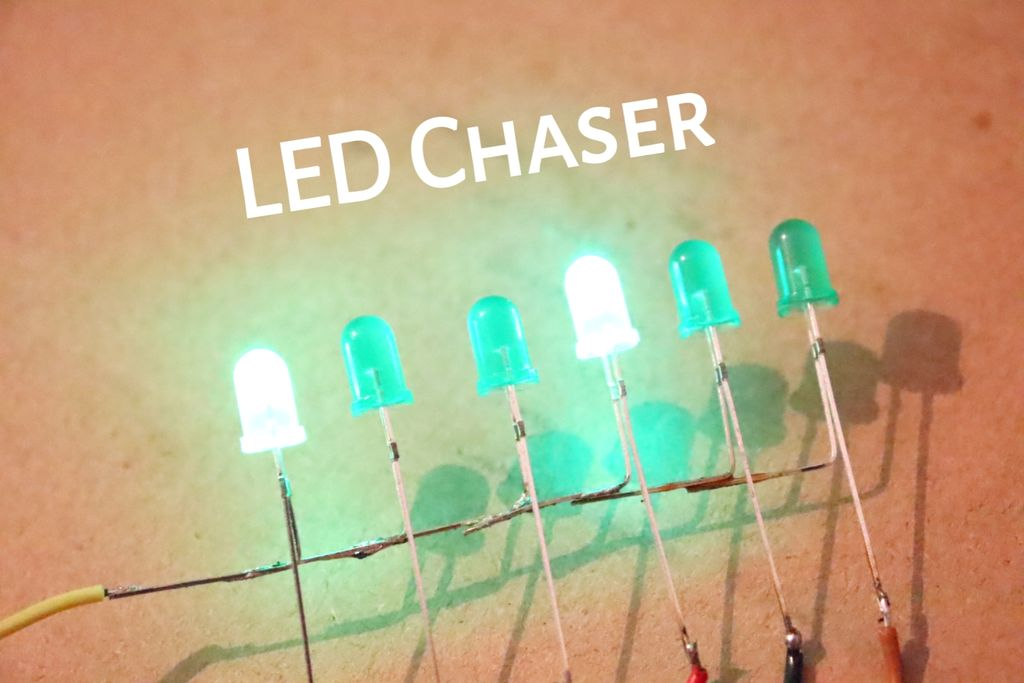 Picture of How to Make Best LED Chaser Circuit Without IC