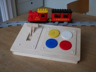 Wooden Bluetooth Remote for Lego Duplo Train