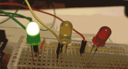LED Traffic Light using Arduino