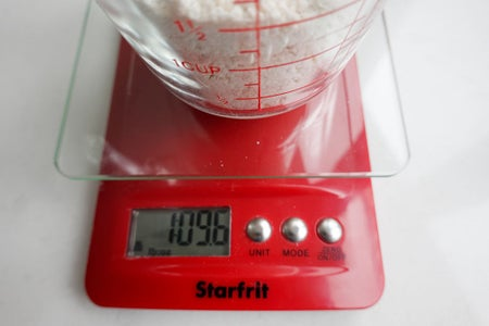 Weigh Your Container, and Weigh Dry Ingredients