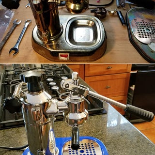 Vintage Coffee Machine Restoration