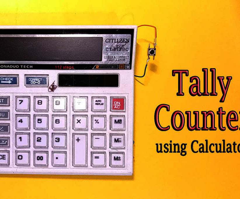 DIY || Tally Counter From Calculator
