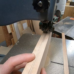 Making the Ends Part 2 - Resawing and Planing