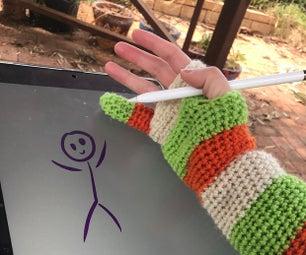 Winter Drawing Glove