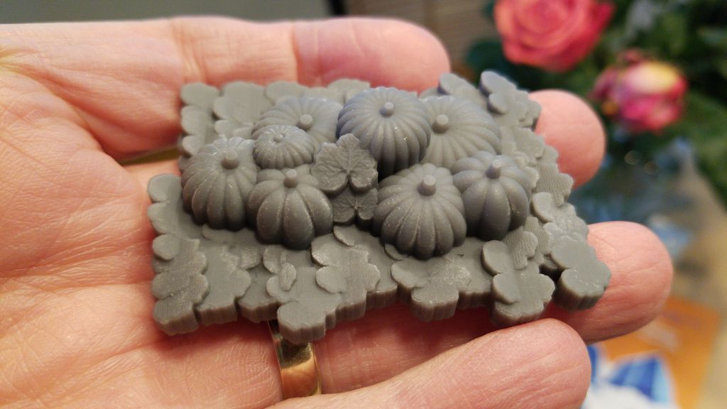 Picture of Pumpkin Patch - 3d Printable