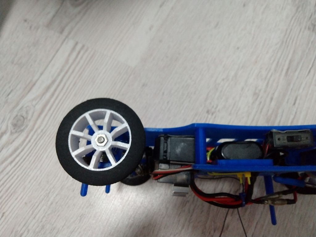Picture of The Car Is Assembled.