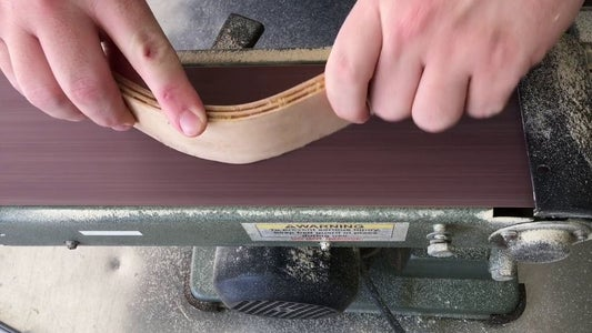 Smooth Bottom Edge and Cut to Final Length