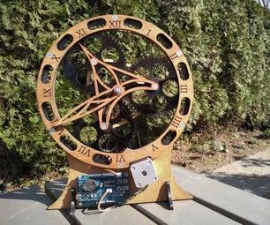 行星齿轮的时钟