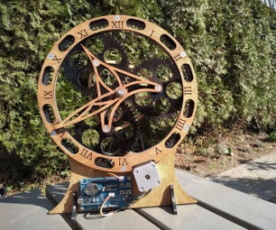 Planetary Gear Clock