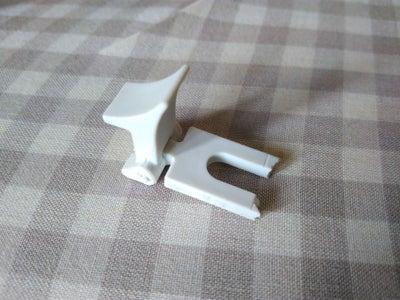 Alternative to the Broken IKEA Vidga Curtain Rail Connector