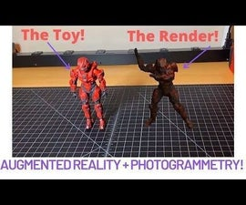 Animating Action Figures in Augmented Reality!