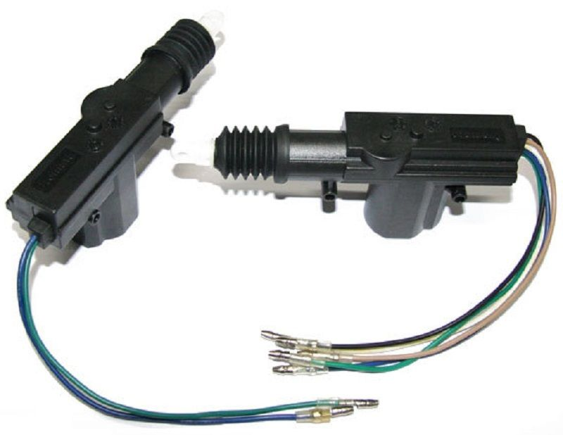 Picture of Connection of Actuator Motor