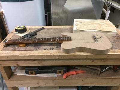 Constructing the Guitar Body: