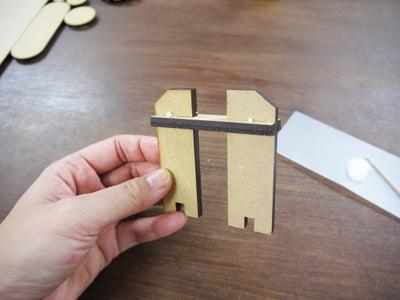 Step 2: Assemble Parts / Wheel (1)