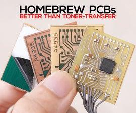 单面PCB自制(预敏PCB)