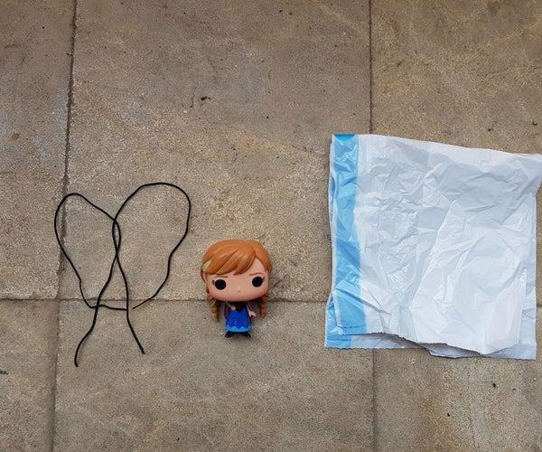 Parachuting Doll