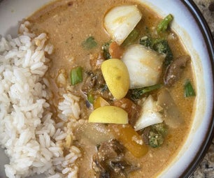 Best Thai Mushroom Coconut Curry Soup