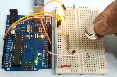 Reed Switch With Arduino