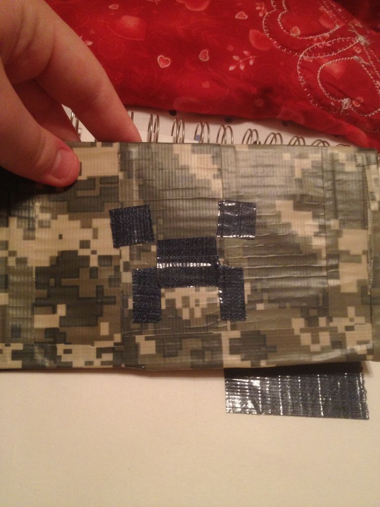 Picture of Creeper Duck Tape Wallet!