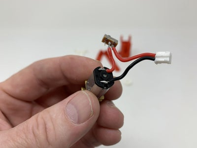 Wire the Motor, Switch and JST Connector.