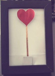 Valentine's Day Interactive Heart Frame