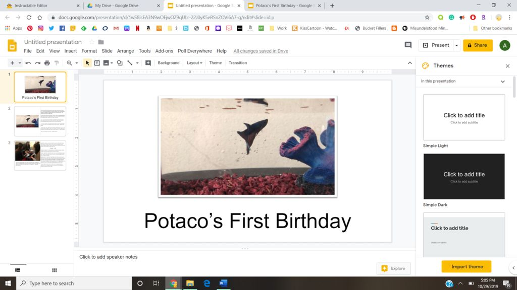 Picture of Google Slides Book