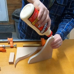Gluing the Side Support Edge Banding
