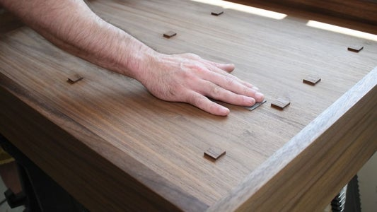 Apply Finish to the Cabinet