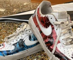 D.I.Y CUSTOM HYDRO DIPPING Shoes!!!