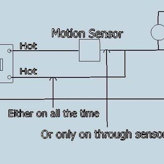 occupancy sensor switch wiring diagram what kind of switch to operate and bypass motion sensor security  operate and bypass motion sensor